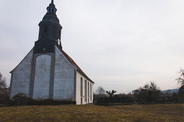 Beautiful view on the renesance church