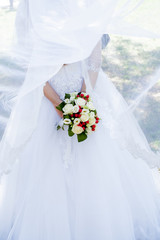 Bride bouquet, natural, rose, style, bunch, holiday, color, day