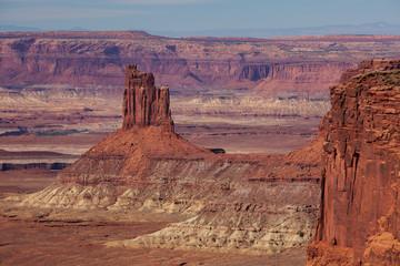 Spectacular landscapes of Canyonlands National park in Utah, USA