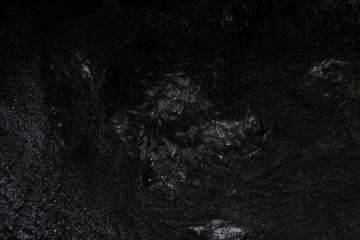 Dunkel schwarze Oberfläche von Holz Kohle und Steinkohle