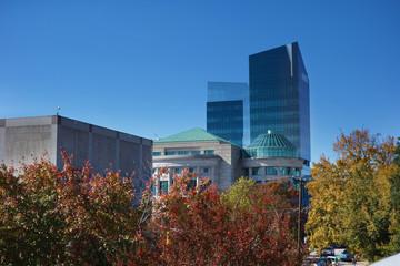 Raleigh NC autumn