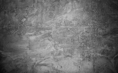 Abstract Grunge black grey concrete Texture