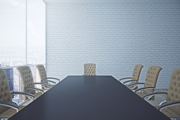 Conference room closeup