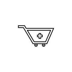buying medicine icon. Element of medicine for mobile concept and web apps. Thin line  icon for website design and development, app development. Premium icon