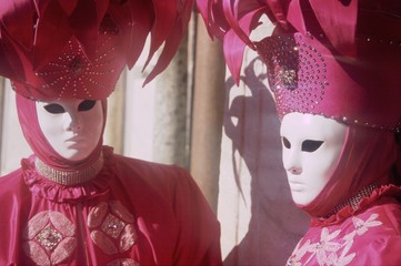 Carnevale di Venezia, Maschere