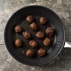 Vegane Fleischbällchen - vegan meatballs