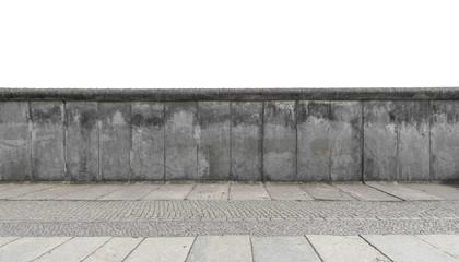 In de dag Graffiti Berlin Mauer abstrakt