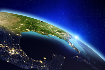 Planet Earth. 3d rendering