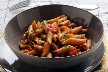 Penne all'arrabbiata Cucina italiana Italian cuisine