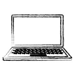 computer laptop isolated icon vector illustration design