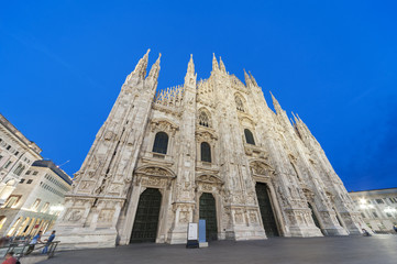 Fototapete - Milan Cathedral, Italy