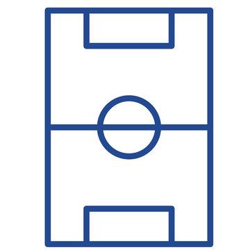 Spielfeld Vector Icon
