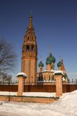 Church of John Chrysostom in Korovniki in Yaroslavl