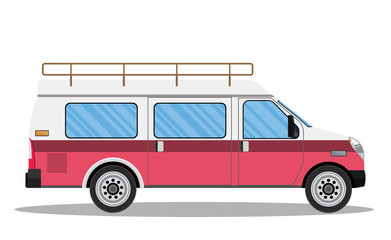 travel van icon.