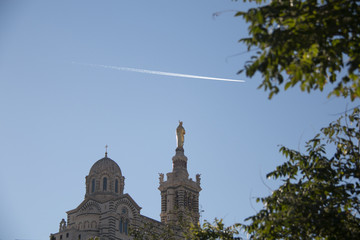 notre dame cathedral in Marseilles
