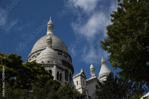 The Domes Of The French Church Sacré Cœur De Montmartre On