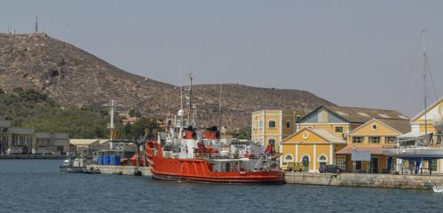 Puerto de Cartagena / Port of Cartagena. Murcia