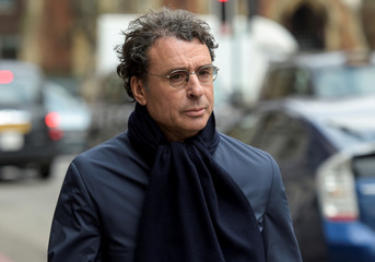 Alexandre Djouhri leaves Westminster Magistrates Court in London