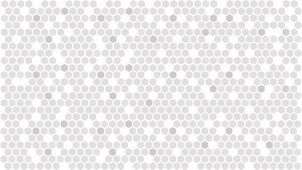Gray hexagonal background. Abstract hexagon pattern. Vector illustration AI10