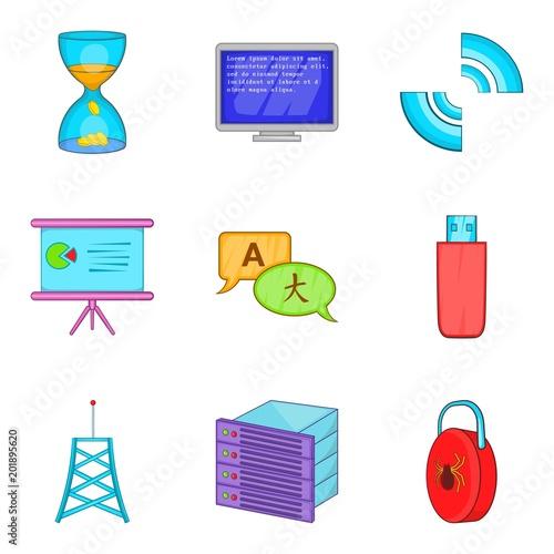 creator icons set cartoon set of 9 creator vector icons for web rh fotolia com vector creator online vector creator software