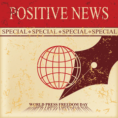 Positive news Press Freedom Day