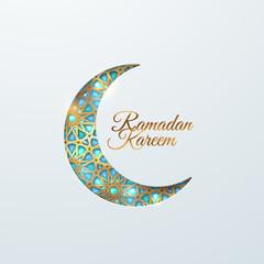 Ramadan Kareem. Vector islam religious illustration