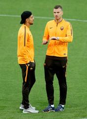 Champions League - AS Roma Stadium Visit