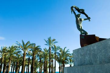 Plaza del Remo, Torremolinos, Andalusia, Spain