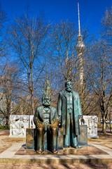 Berlin, Marx-Engels-Denkmal
