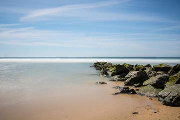 France, Gironde, La plage Lacanau.