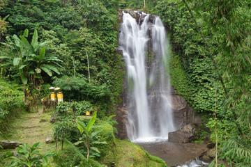 Golden valley waterfall in Bali
