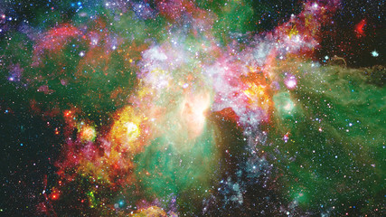The explosion supernova. Bright Nebula. Elements of this image furnished by NASA