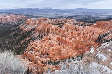 Elevated View On Bryce Canyon Landscape, USA