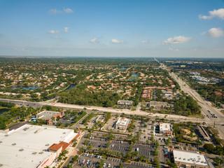 South Florida Urban Aerial Photography.
