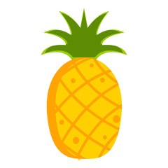 Isolated pineapple icon
