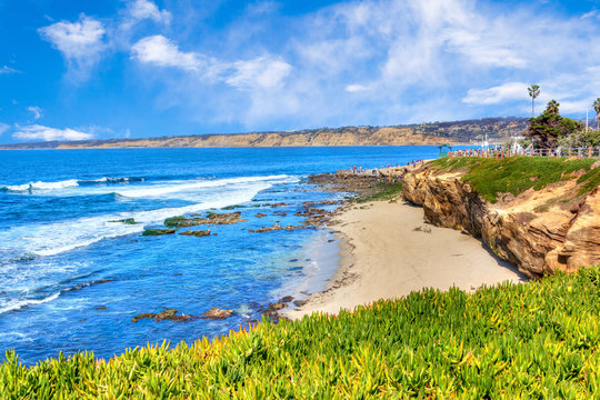 La Jolla Cove in San Diego, Southern California