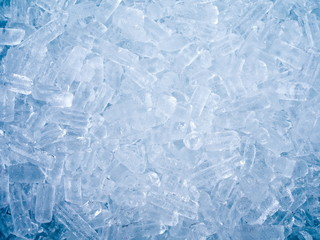 Ice cube background and texture
