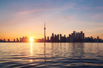 Toronto coucher de soleil - Canada