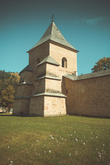 Tower of Sucevita monastery, Romania