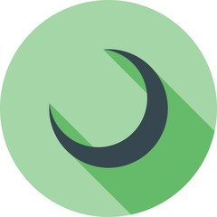 Crescent, moon, islamic