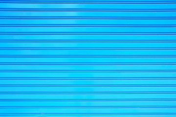 Blue Painting Shutter Door Background.