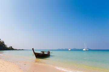 Tropical landscape of Koh Mook