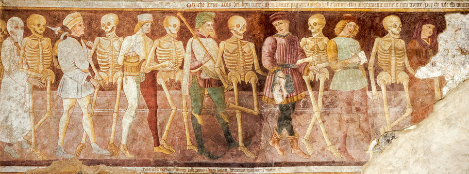 Clusone, Fresco, Dance of the Death