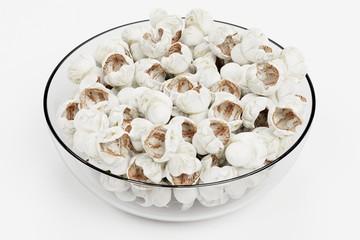 Realistic 3D Render of Popcorn