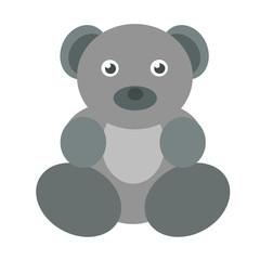 серый медведь