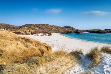 Fototapete - Clachtoll Beach in Scotland