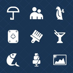 Premium set with fill icons. Such as poker, protection, white, cake, animal, glass, weather, baby, children, sign, human, drawing, sweet, cute, food, game, doughnut, picture, man, photo, seafood, body