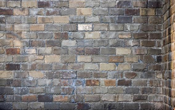 old brick masonry texture background