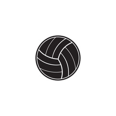 Volley ball vector icon