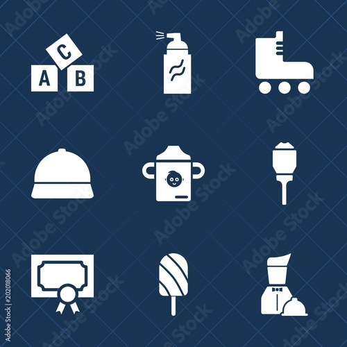 Premium Set With Fill Icons Such As Hat Lantern Leisure Alphabet